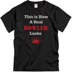 How a bowler looks