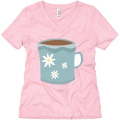 Floral Coffee Cup