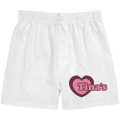 Tina's Valentine Boxers