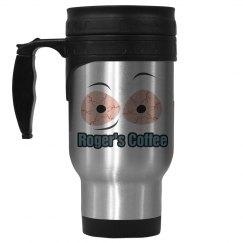 Roger's Coffee Travel Mug