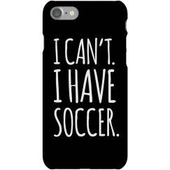 I Have Soccer Practice
