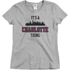 It's a charlotte thing