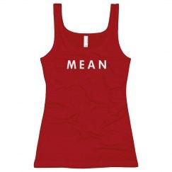Mean Girl Pink Tank