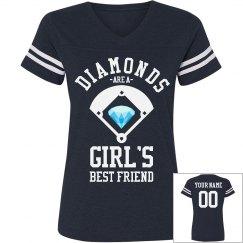 Baseball Diamonds For Her