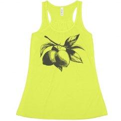 Vintage Lemonade Neon Lemon Tank