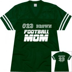 Brown Football Mother