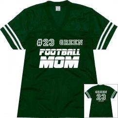 Green Football Mother