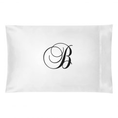 Ornate Script Custom Monogram B