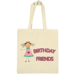 Birthday Friends Tote