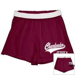 Cheerleader Short w/ Back