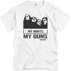 My Rights My Guns Men's Tshirt