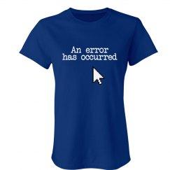 Blue Screen Error T-Shirt