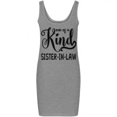 Sister in Law Junior Fit Bella Jersey Tank Dress