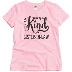 Sister-in-Law Basic Relaxed Fit T-Shirt
