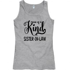 Sister-in-Law Semi-Fitted Anvil Ringspun Tank Top