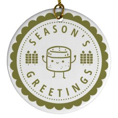 Spices Season's Greetings Ornament