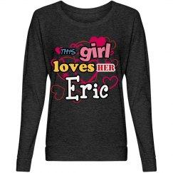 This girl loves Eric!
