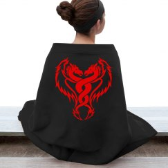 Red Dragons Intertwined