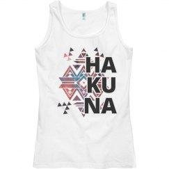 Hakuna Bold Letters
