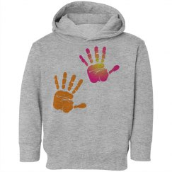 Twin Handprints Hooded