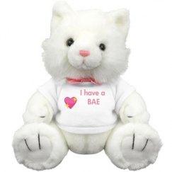 I have a Bae stuffed Animal