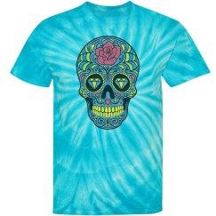 Sugar Skull Tie Dye
