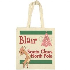 Personalize Christmas Bag