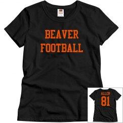 Womans Beaver Tshirt