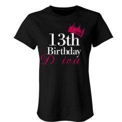 13th Birthday Diva