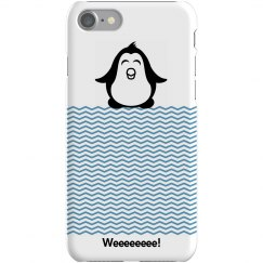 Cute Penguin iPhone Case
