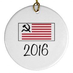 2016 Commemorative Anti-Trump Ornament
