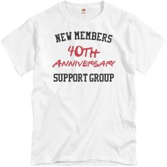 New members 40th anniversary