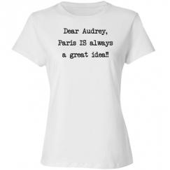 Dear Audrey