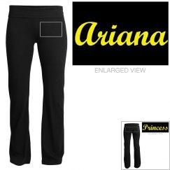 Ariana, yoga pants