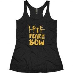 Fear The Bow Cheerleading Tshirts