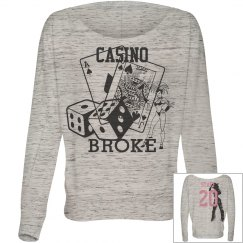 Casino broke girl long sweaters