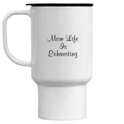 Mom life travel mug