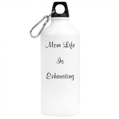 Mom life water bottle