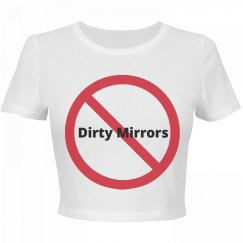 Dirty Mirrors Crop Top