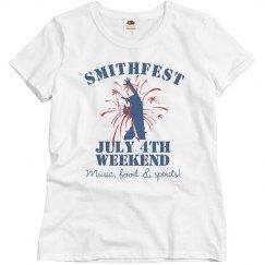 Smithfest Weekend Tee