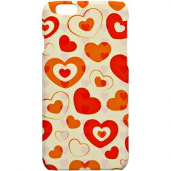 Floating Hearts Iphone 6 Cover