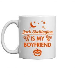 Jack Is My Boyfriend Spooky Mug