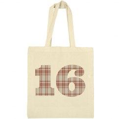 16 Tote Bag