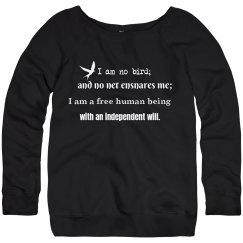 Literary Quote Sweatshirt