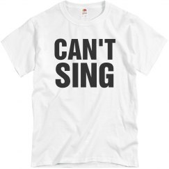 Can't Sing