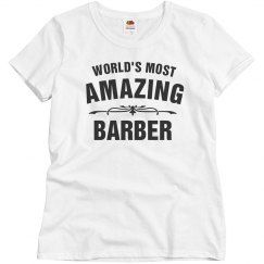 World's amazing Barber