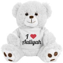 I love Aaliyah