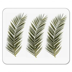 Simple Palm Frond Mouse Pad