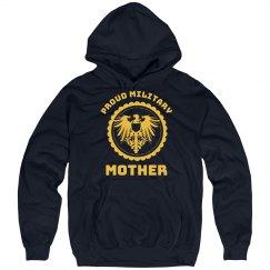 Proud Military Mom Hoodie