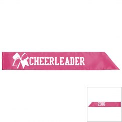 Cheerleader Sash